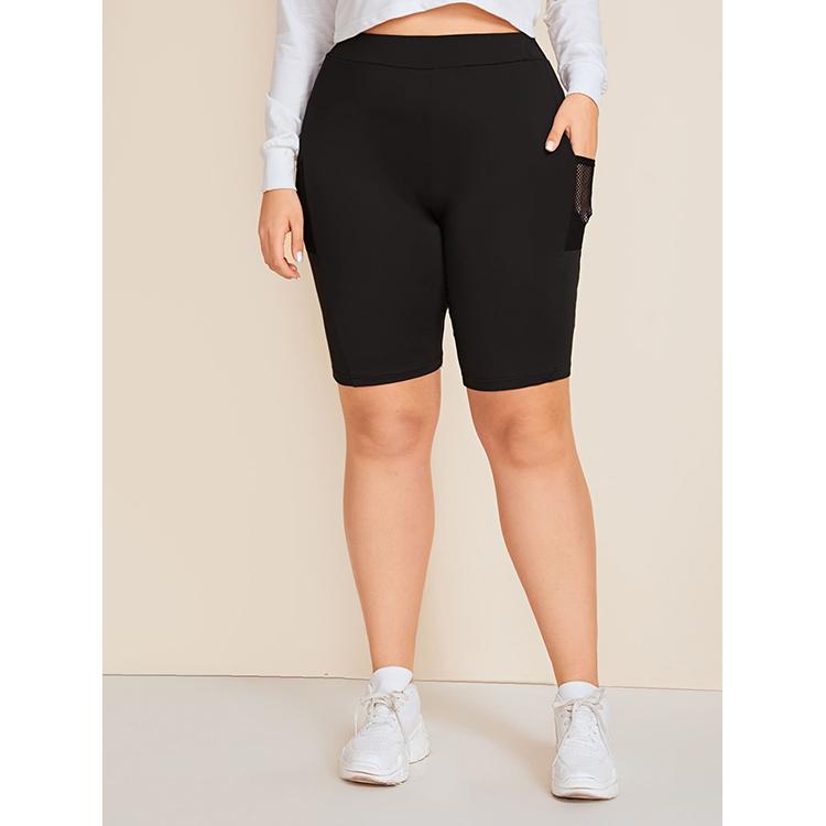 Women's Pants Sports Fitness High Waist Leggings Fashion New Hip-lift Plastic Fitness Shorts Clothing