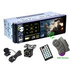 Universal Auto Multimedia MP5/AM/FM/RDS Radio Audio Stereo DVD Player, Car 1 Din Touch Screen Rear View Autoradio
