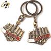 Tourist souvenir keychain