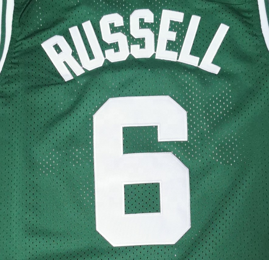 Bill Russell Best Quality Stitched Basketball Jersey - Buy Bill ...
