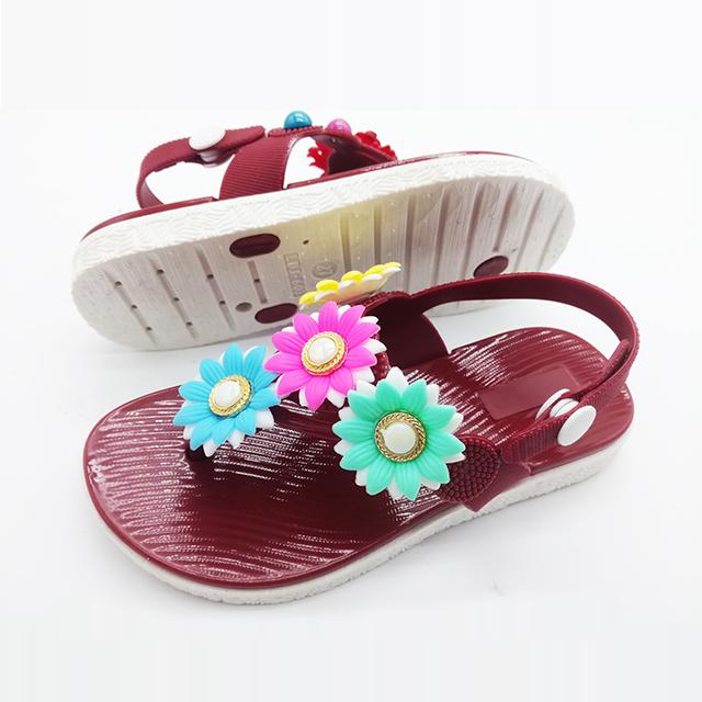 Лето 2021, лидер продаж, Новейшие милые детские сандалии, сандалии для девочек