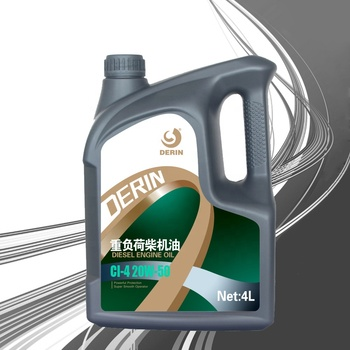 Diesel engine oil CI-4 20W-50 4L engine oil for car