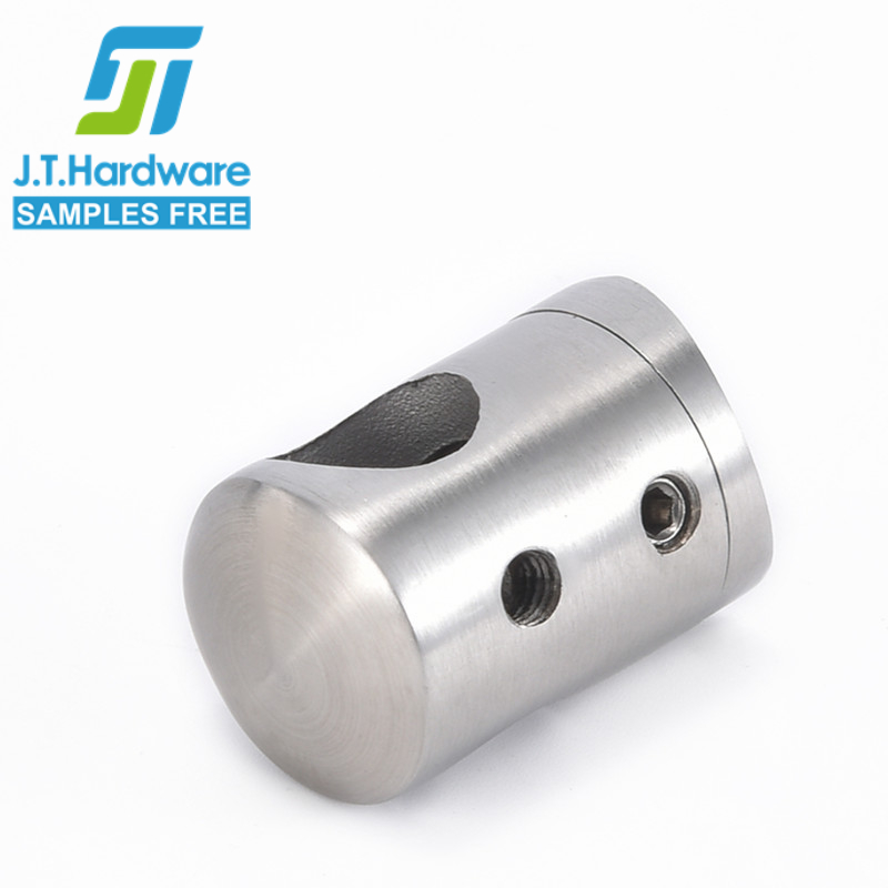 Factory direct sale stainless steel 304 316 2205 radius back center standoff connector crossbar holder