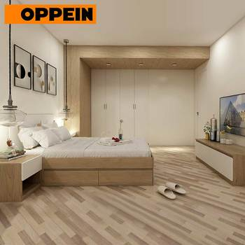 Guangzhou Manufacturer Modern Home Wooden Bedroom Furniture for adult and kids