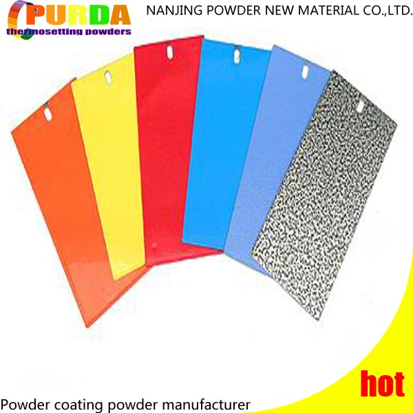 Excellent Appearance Polyester Powder Coating Electrostatic Spraying Chemical Powder