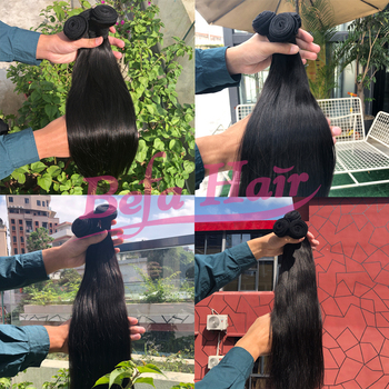 Bone straight human hair,cuticle aligned hair virgin human,brazilian human hair extension