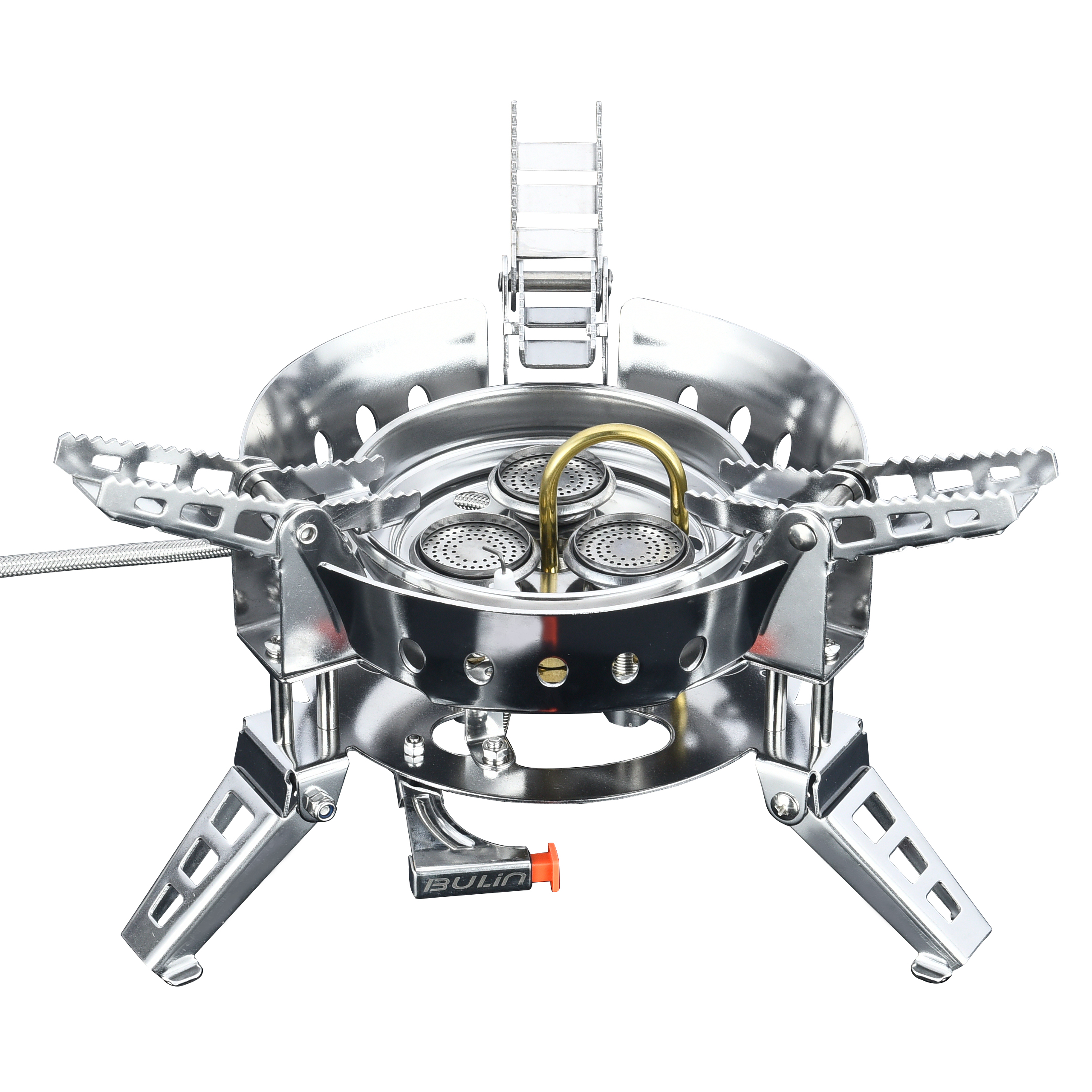 Bulin BL100-B17 campfire bornfire camp gas stove tent camping for selfdriving shelter BBQ