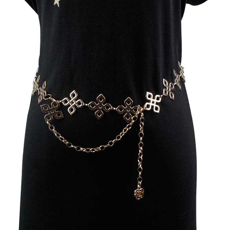 Модный аксессуар для живота в современном стиле женский пояс на талию