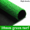 10ミリメートル緑の芝生