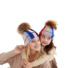 Winter Girls Mother And Baby Beanie Women Caps Winter Heat Girls Winter Hat