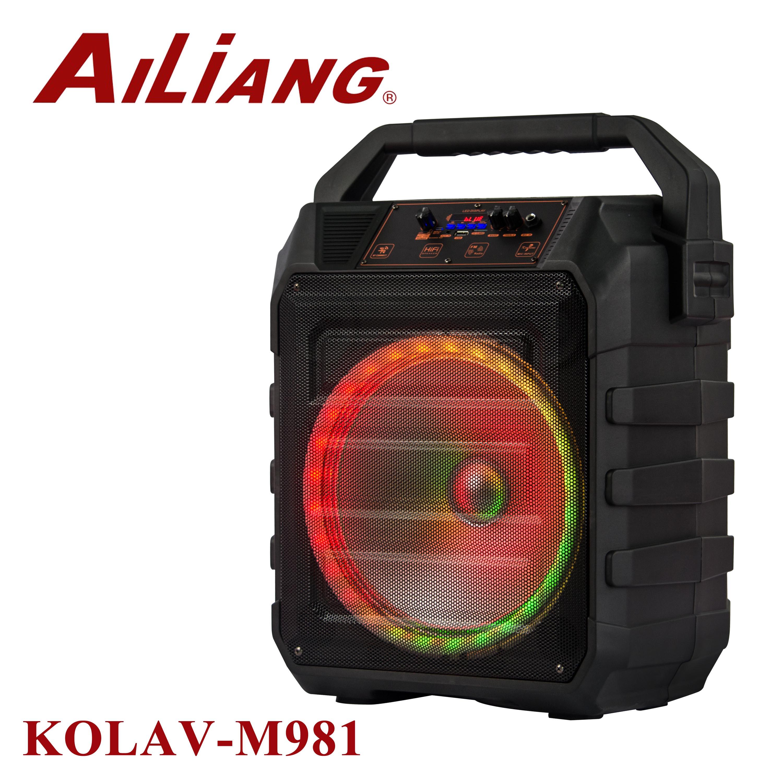 Динамик высокое качество 12 дюймов аккумуляторная модель KOLAV-M981