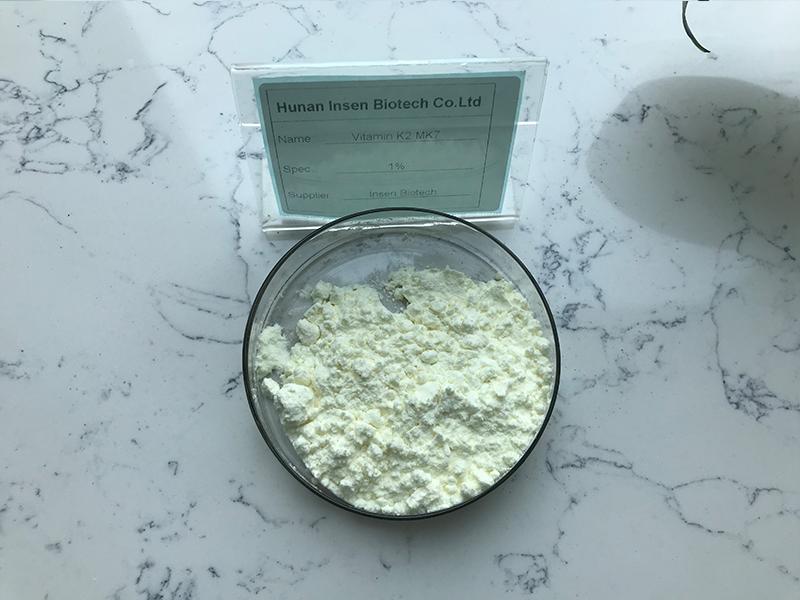 Vitamins Raw Material Factory Sale Both Powder and Oil Form K2 Vitamin K2 MK7