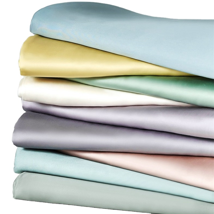 All specifications can be customized solid color 100% mulberry natural silk fabric