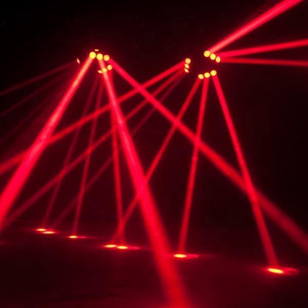 Winlite new products light dj 9X10W 4in1 rgbw led spider mini beam stage moving head light