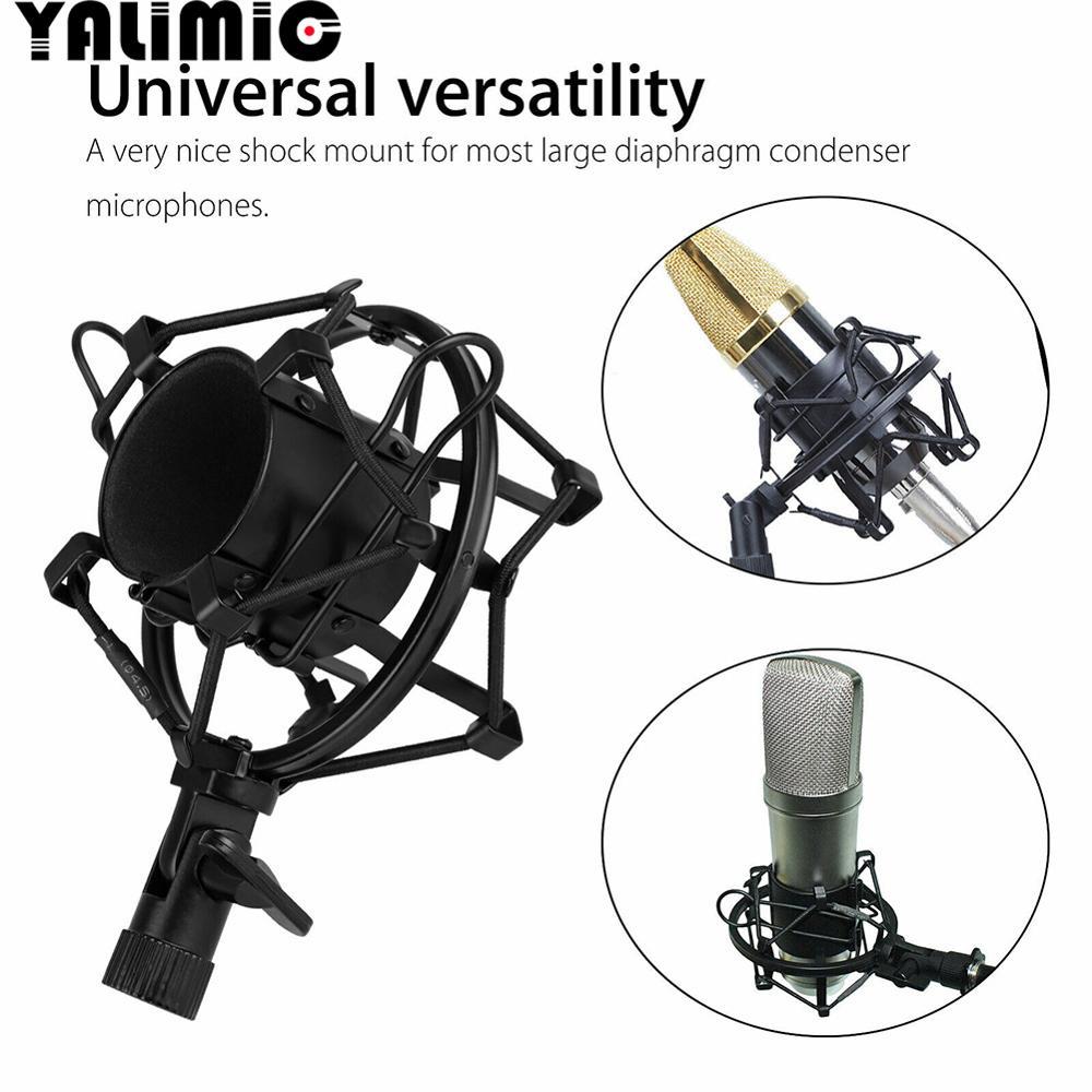 Оптовая продажа, металлическое амортизирующее крепление для микрофона