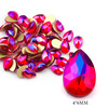 5# 4*6mm Drop Red AB