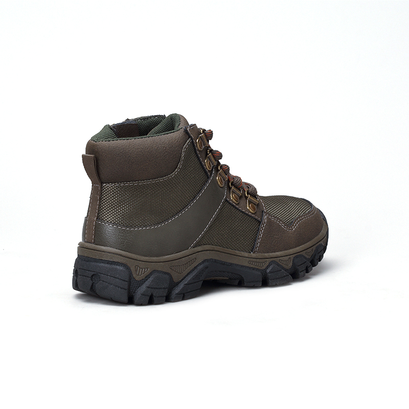 Лидер продаж 2021, Детские осенне-зимние ботинки для скалолазания, прочные нескользящие рабочие ботильоны для скалолазания на шнуровке
