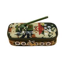 Креативный камуфляжный чехол для карандаша, большая вместимость, молния, ткань Оксфорд, для студентов канцелярские принадлежности ручка, к...(Китай)