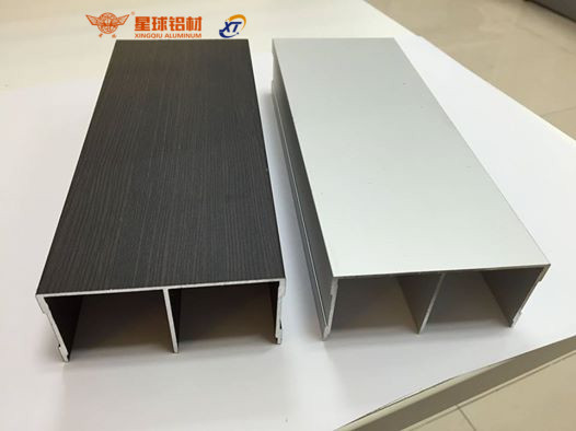 Китайский поставщик алюминиевых профилей для шкафа. Алюминиевые раздвижные двери и окна 3-трек раздвижные дверные профили