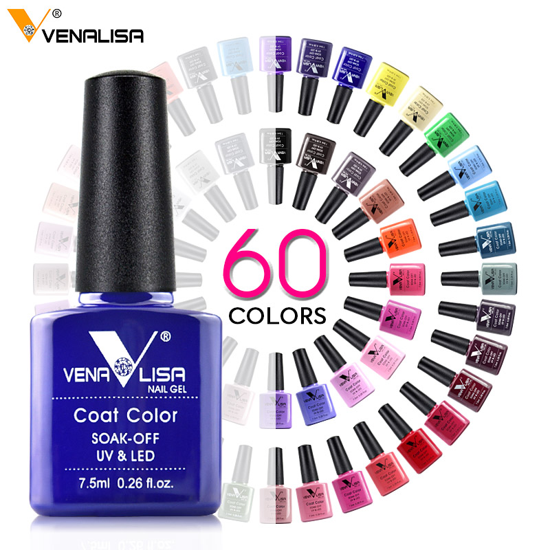 2021 Newest Venalisa Acrylic Nail Gel Polish Learner UV Gel OEM Whole Set 60 Color Gel Nail Polish Private label Enamel Varnish