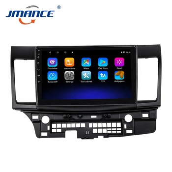 Music Multimedia Navigation System Touch Screen Car Dvd Player 2 Din For Mitsubishi Lancer