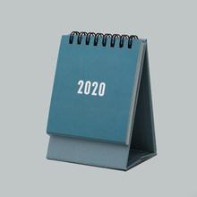 Календарь 2020 настольный мини-календарь портативный ежемесячный планировщик 2020 Годовая программа Органайзер список канцелярских принадле...(Китай)