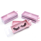 Eyelash Box Wholesale High Quality Private Label Vendor 3d Mink Eyelash With Custom Lash Box