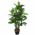 2020 new arrival artificial Ficus tree, PEVA rubber tree artificial plants for garden decoration