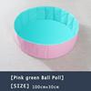Pink Green Ball Poll