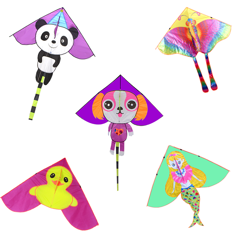 Factory direct children's beach outdoor toys north weifang anima custom made kites