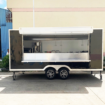 Mobile food concession trailers fast taco food vending cart crepe food truck for sale