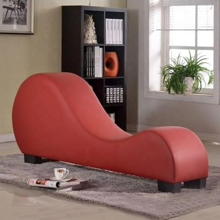 modern style love sex sofa chair furnituradult hotel stretch chaise curved yoga lounge love sex sofa chair