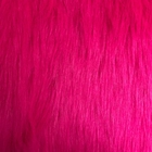 Single Color Supple Dyeing Faux Fur Jacket Fabric High Quality Faux Fur Fabrics