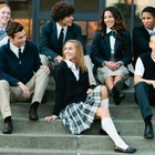 School Uniforms School High School Uniforms Custom Made And Design Upmarket Slim Fitting Anti-wrinkle And Anti-pilling College Style And American Style High School Uniforms