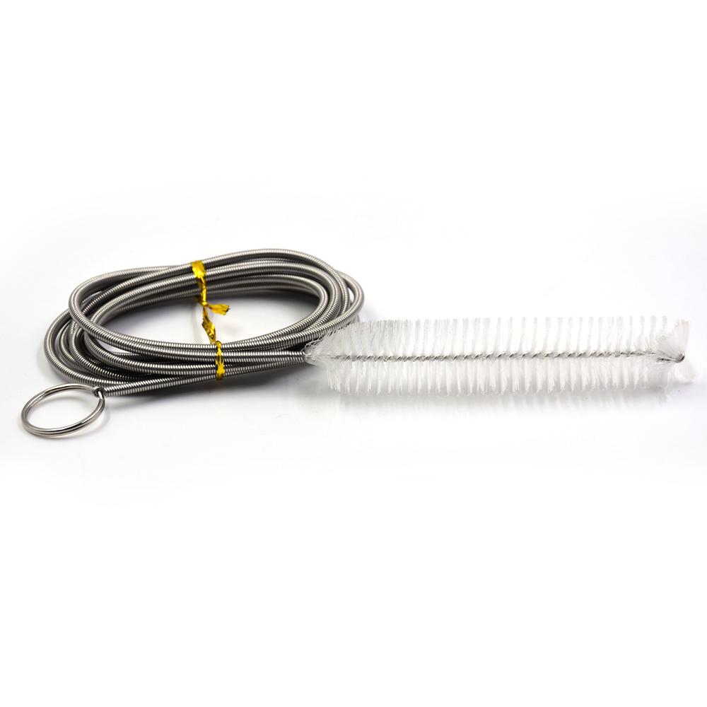 MDWK Durable Conveniente Cepillo de Vac/¨/ªo Conector de Manguera Juego de Limpieza Piscina SPA Submarino Limpiador F/¨/¢CIL de Instalar