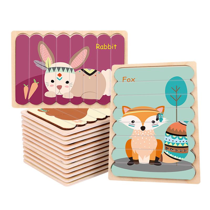 Оптовая продажа от производителя, деревянная головоломка на заказ для детей, другие и хобби, детская игрушка «сделай сам», деревянные Обучающие Игрушки для раннего развития