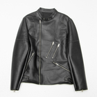 For Men 2021 New Arrival Multi Zipper Stylish Motorcycle Pu Leather Jackets For Men