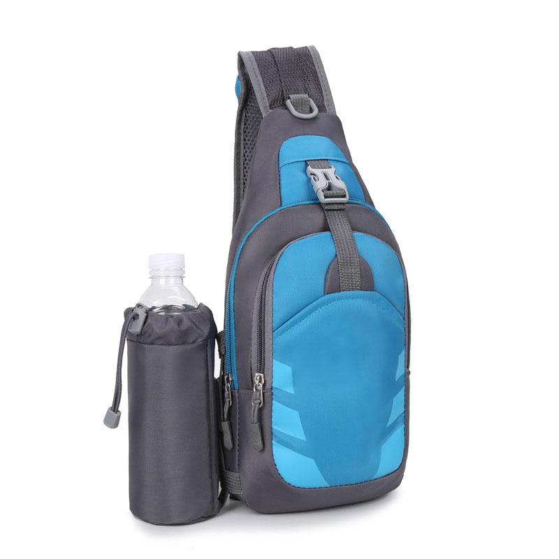 New Fashion Portable Lightweight Waterproof Small Outdoor Sports Shoulder Crossbody Custom chest bag