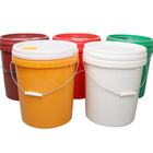 Durable Bucket Bucket Durable 20 Liter Hdpe Bucket Plastic Container With Lid And Handle