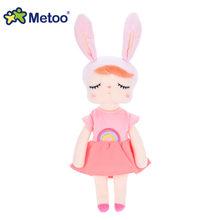 Оригинальная кукла Metoo, игрушки для девочек, милый кролик, красивое платье, фрукты, Анжела, мягкие плюшевые мягкие животные для детей(Китай)