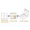 Double faced adhesive tape set