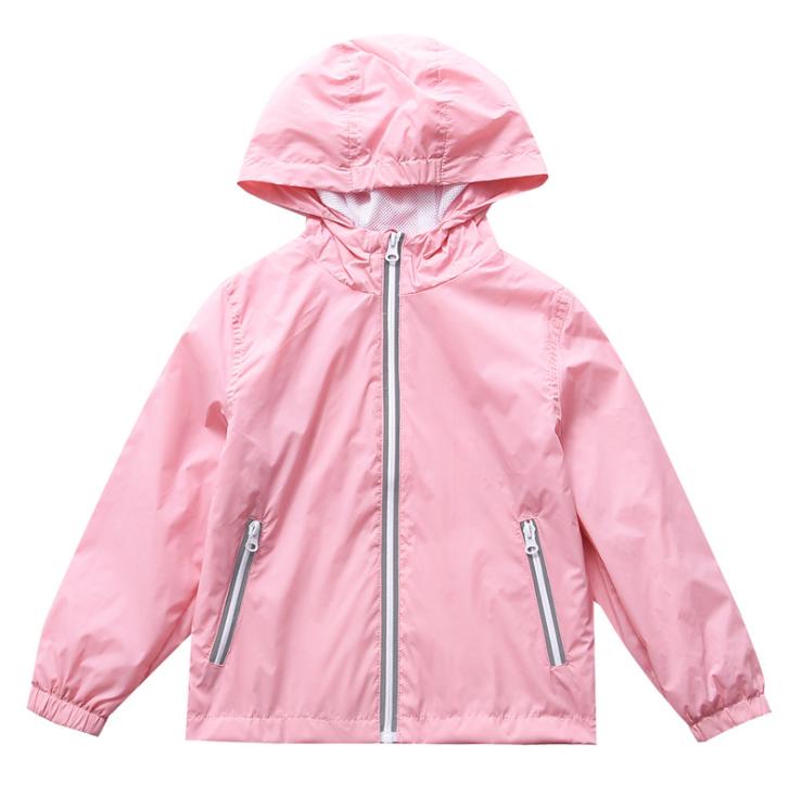 4-12 years Children Clothes 2020 Winter Outwear Coat Turn-town Collar Waterproof Hoodie Children Jacket With Zipper For Kids