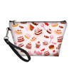 Macarons and fruits cosmetic bag 6