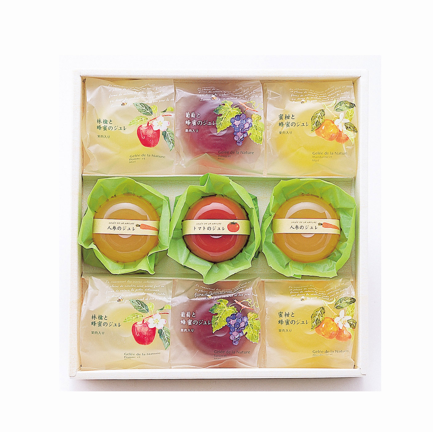 Natural many different kinds of fruits designer custom mini cup jelly