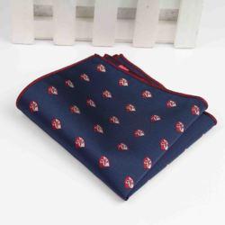 Мужские костюмы, дизайнерские платки из полиэстера, тканые карманные квадратные носовые платки с принтом, деловые повседневные Карманы, носовой платок № 1-20
