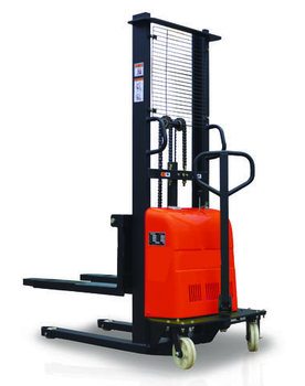 1ton,1.5ton,2ton Semi-electric pallet Jack Battery Power small electric forklift