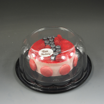 Wholesale Cake Boxes In Bulk Plastic Cake Box Clear Plastic Box For Cake On Sale