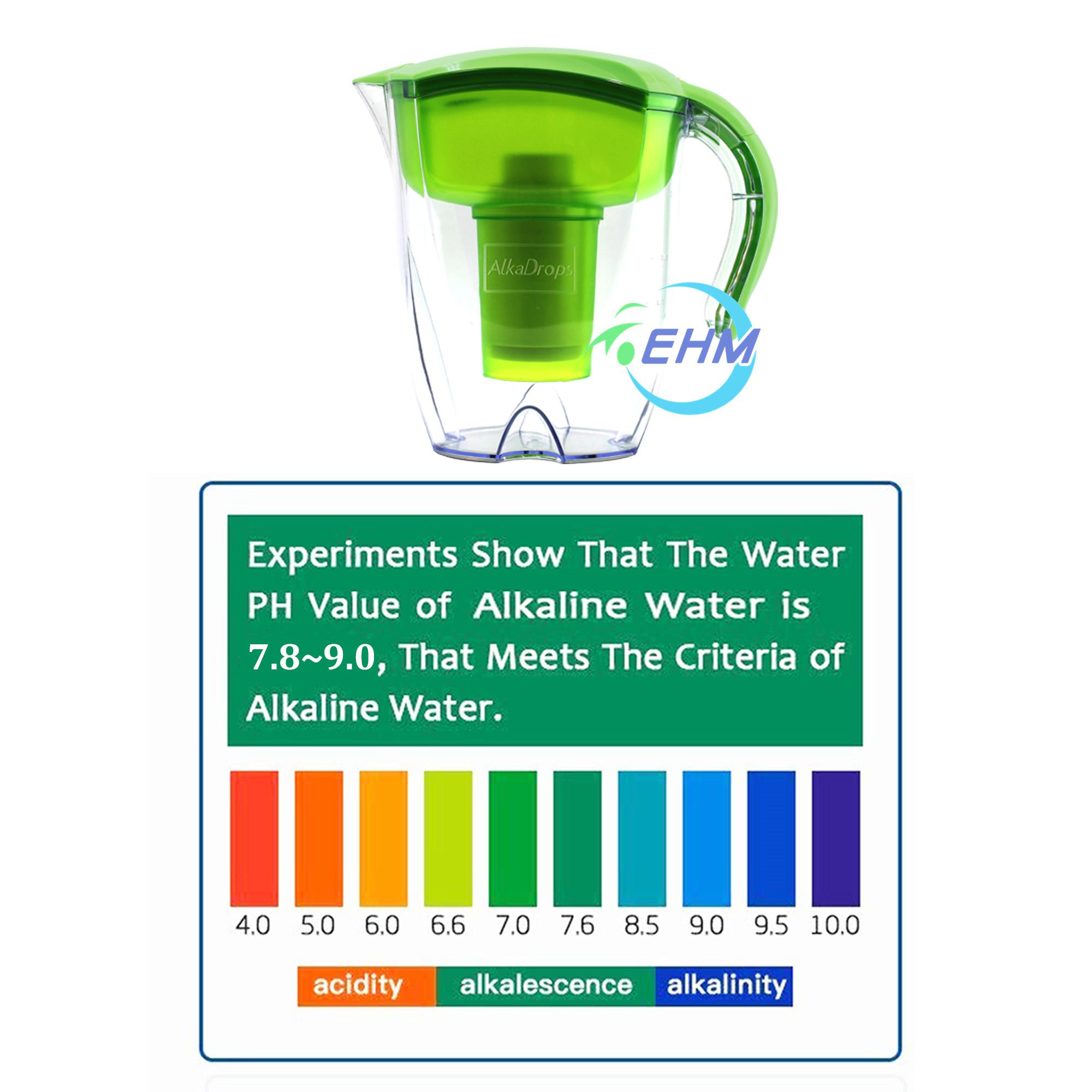 Лидер продаж, кувшин для щелочной воды, кувшин для фильтрации чистой воды 3,5 л