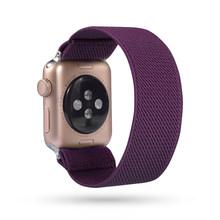 Богемный эластичный нейлоновый ремешок на петлях для Apple Watch 38 мм 40 мм 42 мм 44 мм Iwatch 5/4/3 2 мужской женский ремешок для Apple Band(China)