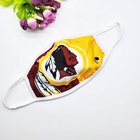 Nfl Hot Sell Custom NFL Steelers Saints Dallas Cowboys Washable Cloth Face Cover For American Nfl Football Design FaceMask
